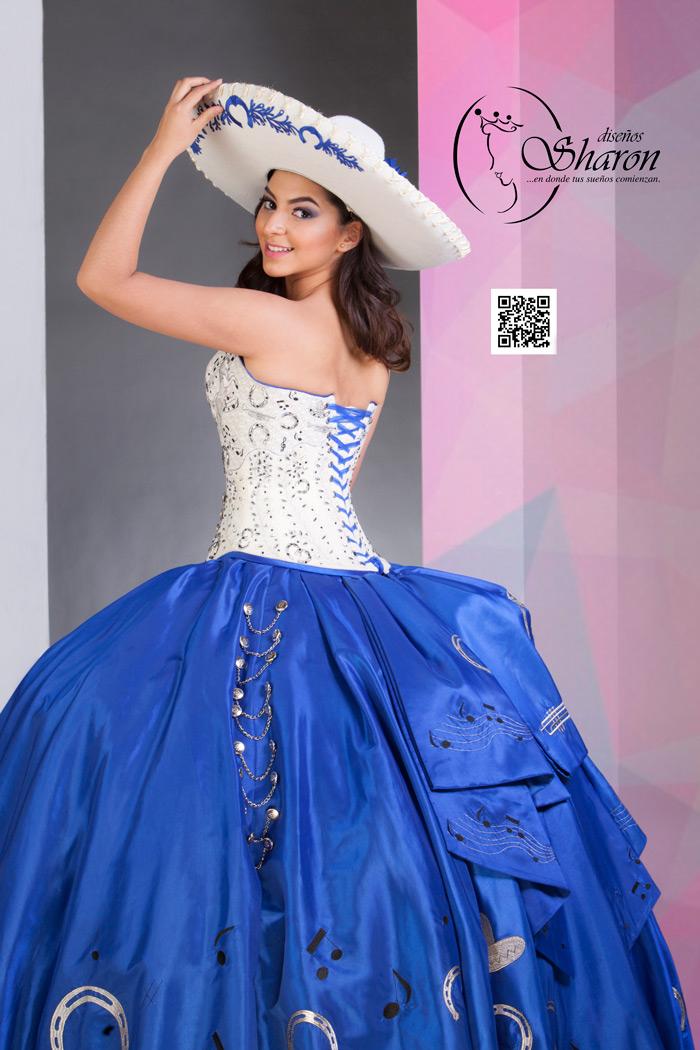 Vestidos De Xv En Azul Rey Vestidos Populares 2019